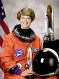 Space Shuttle Commander Eileen Collins, First Woman to Command Space Shuttle Mission, Oct 30, 1998 Print
