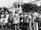 Julie Nixon Eisenhower Worked as White House Tour Guide in Summer of 1969, Jul 2, 1969 Photographic Print