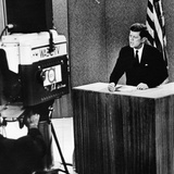 John F Kennedy at the Kennedy-Nixon Debates, Sep 26, 1960 Photographic Print