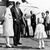 Democratic Presidental Nominee John Kennedy Says Goodbye to His Family Photo