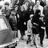 Kennedy Family at the Funeral of Joseph P Kennedy Posters