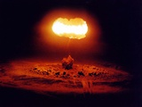 The Stokes Shot Was a 19 Kiloton Nuclear Test Photographic Print