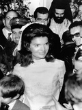 Jacqueline Kennedy Marries Aristotle Onassis Photographic Print