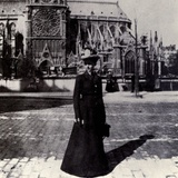 Julia Morgan, Noted Female Architect, in Paris, ca 1900 Prints