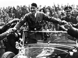 Adolph Hitler, Like Most Politicians, Makes Contact with His Admiring Public, ca 1935 Photographic Print