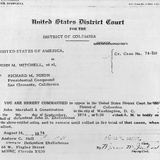 Subpoena for Pres Nixon to Appear in Court to Testify for Defendant John D Ehrlichman, Aug 14, 1974 Photo