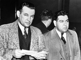 Joseph Accurso (Right) of Cleveland in Court in Brooklyn Photographic Print