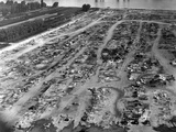 Bulldozed Remains of Bonus Army Encampment, Anacostia Flats, Washington DC, Jul 29, 1932 Photo