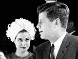 Princess Grace of Monaco and President John F Kennedy Photo