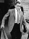 Meyer Lansky Leaves Federal Court Jul 19, 1973 after Pleading Innocent to Income Tax Evasion Print