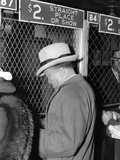 J Edgar Hoover Placing a Bet at the Two Dollar Window Photo