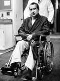 Former President Richard Nixon in Wheelchair Fotografie-Druck
