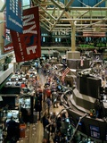 Trading Floor of the New York Stock Exchange, New York City, ca 2000 Photo