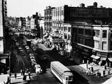 Harlem's Famous Thoroughfare, 125th Street in 1943 Photo