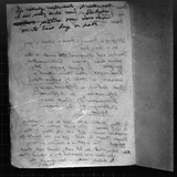 Suicide Note, Written and Signed by Annie Moore Photographic Print