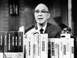 Milton Eisenhower Reports to the US Senate Photographic Print