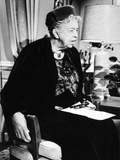 Eleanor Roosevelt in the Last Decade of Her Life Photographic Print