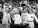 President Franklin Tossed Out the Ball Starting the All-Star Game in Griffith Stadium, Washington Prints