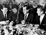 California Dignitaries Meet for Lunch with Other Prominent Californians, Jan 2, 1969 Photographic Print