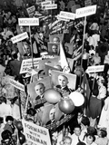 Demonstration for President Truman at National Democratic Convention, Philadelphia, July 14, 1948 Photo