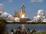 Launch of Atlantis, the 66th Space Shuttle Mission Photo