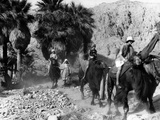 Camel Riders in California Photo