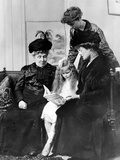 Eleanor Roosevelt (Standing) with the Most Important Women in Her Life Photographic Print