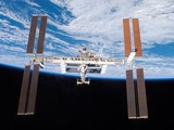 International Space Station in 2007 Photographic Print