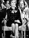 Patricia Nixon, Is Impeccable in Posture and Dress During Her Husband's Campaign Speech Photo