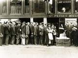 Breadline for the Needy in New York City Photographic Print