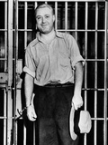 'Machine Gun' Kelly Smiles for Photographers in Memphis Jail Cell, Sept 26, 1933 Photo
