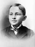 Harry Truman as a Schoolboy, ca 1892 Photo