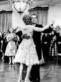 President Richard Nixon Dances with the First Lady at Tricia's Wedding Reception Photographic Print