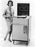 The First Public Use Photocopy Vending Machine Photographic Print