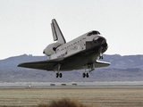 Space Shuttle Atlantis Landing at Edwards Air Force Base in California, Sept 17, 2006 Photographic Print