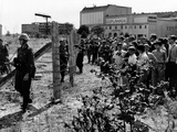 First Days of the Berlin Wall Photo