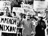 Anti-Nixon Demonstrators at the White House Photographic Print