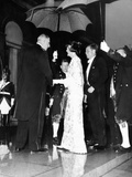 French Pres Charles De Gaulle (Left), Greets Pres John and Jacqueline Kennedy at the Elysee Palace Photographic Print