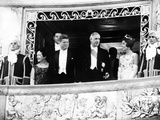 President and Jacqueline Kennedy at the Palace of Versailles Photographic Print