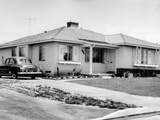 Sen Richard Nixon Home in Whittier, California Home, 1952 Photographic Print