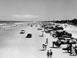 Daytona Beach Is 23-Mile-Long and 600 Feet Wide Photographic Print