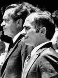 President Richard Nixon and King Hussein of Jordan Photo