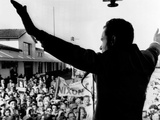 Richard Nixon Campaigning for Governor of California Photo