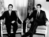 South Korean President Park Chung Hee and President Richard Nixon Photo