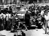 Vice President Richard Nixon's Car Is Attacked by an Angry Mob in Caracas, Venezuela Photographic Print
