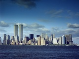 Skyline of Lower Manhattan before the 9/11 Terrorist Attacks Photographic Print