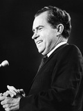 Pres Candidate Richard Nixon at Rally Attended by 19,000 at Madison Square Garden, Oct 31, 1968 Photo