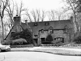 Vice President Richard Nixon's New House in NW Washington DC Photographic Print