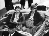 First Ladies' Car at the 1933 Presidential Inauguration Photographic Print