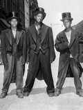 The African American Teenagers with Tuxedos and Top Hats During the August 1943 Riots in Harlem Photographic Print
